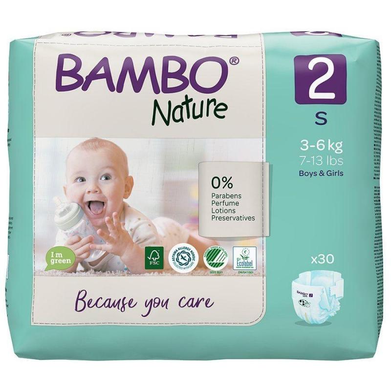 Mähkmed mini 3-6 kg 30 tk Bambo Nature