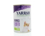 Kassikonserv kana ja kalkuniga 405g Yarrah