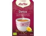 Puhastav Detox tee Yogi Tea, 17 tk pakis